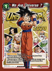 We Are Universe 7 (Event Pack 06) - BT9-018 - UC - Foil