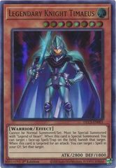 Legendary Knight Timaeus - DLCS-EN001 - Ultra Rare - 1st Edition