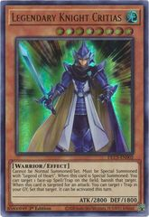 Legendary Knight Critias - DLCS-EN002 - Ultra Rare - 1st Edition