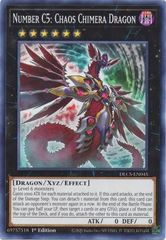 Number C5: Chaos Chimera Dragon - DLCS-EN045 - Common - 1st Edition
