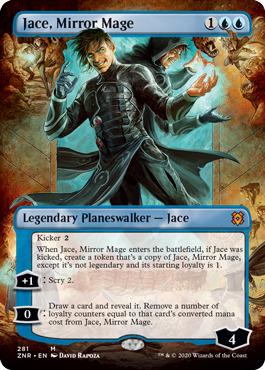 Jace, Mirror Mage - Borderless
