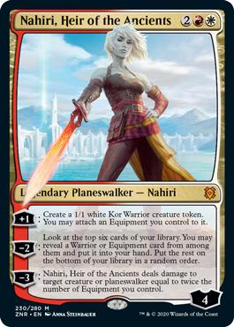 Nahiri, Heir of the Ancients - Foil