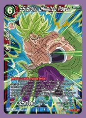SS Broly, Unlimited Power - BT11-014 - SR