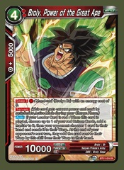Broly, Power of the Great Ape - BT11-016 - R