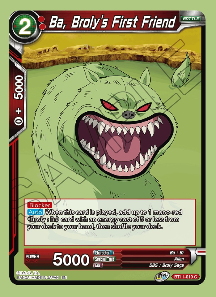 Ba, Brolys First Friend - BT11-019 - C - Foil