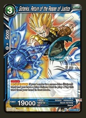 Gotenks, Return of the Reaper of Justice - BT11-056 - UC - Foil
