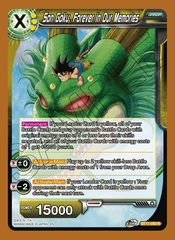 Son Goku, Forever in Our Memories - BT11-093 - R - Foil