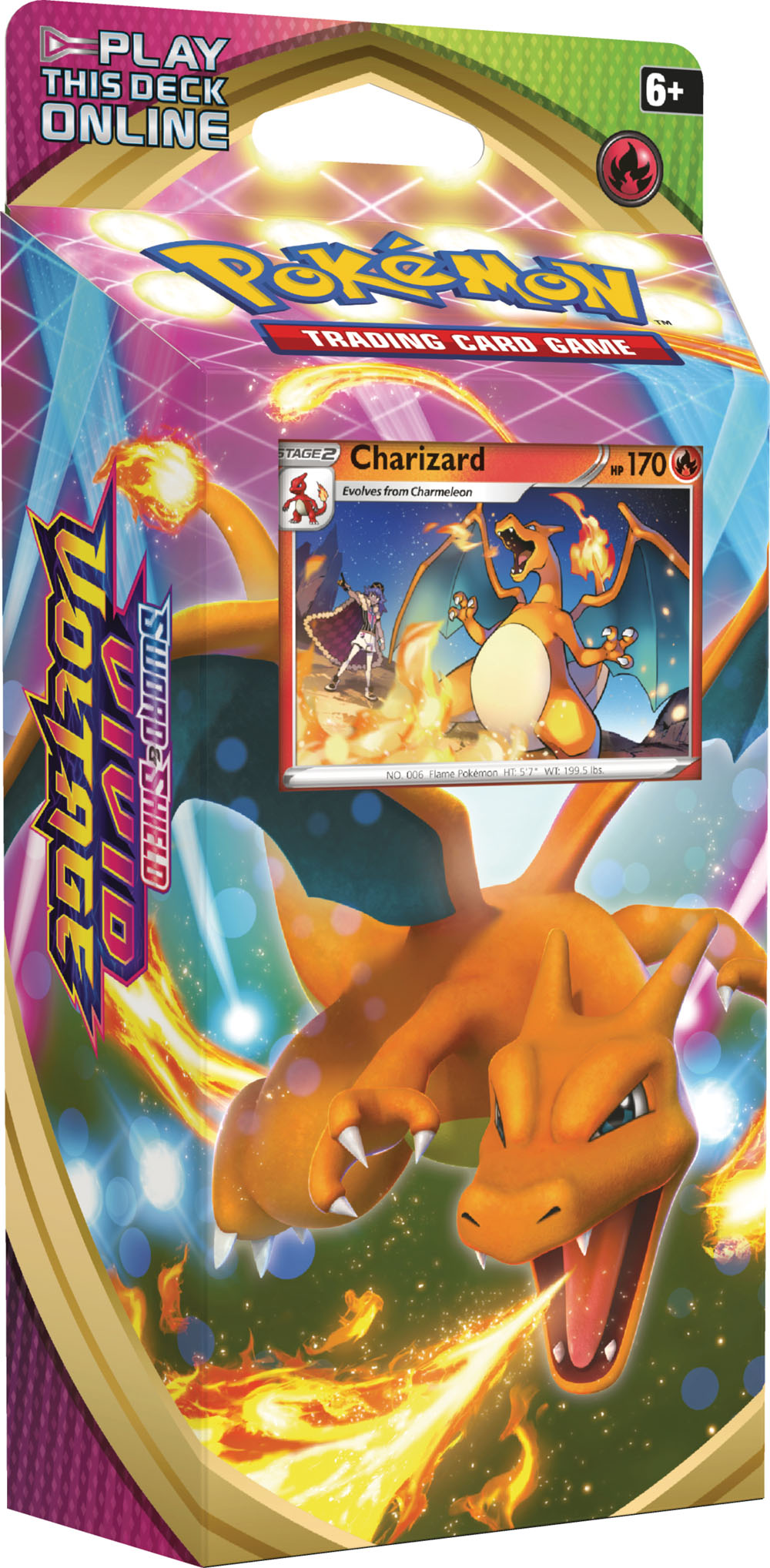 Sword & Shield - Vivid Voltage Theme Deck - Charizard