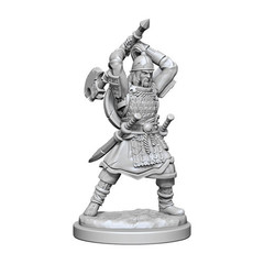 D&D Nolzurs Marvelous Miniatures - Human Barbarian Male (Wave 13)