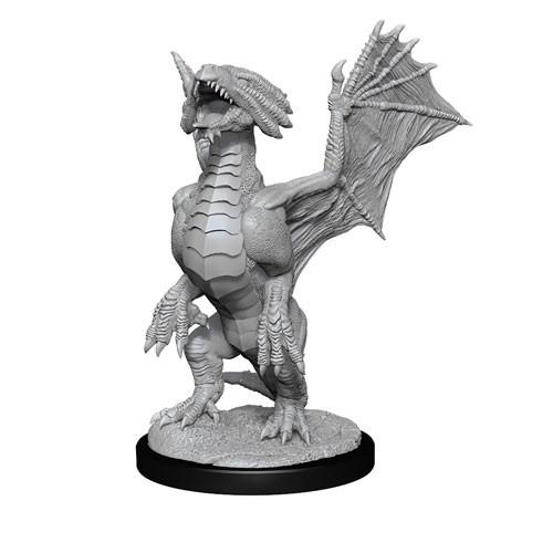 D&D Nolzurs Marvelous Miniatures - Bronze Dragon Wyrmling & Pile of Seafound Treasure (Wave 13)