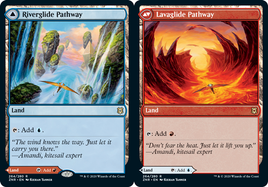 Riverglide Pathway // Lavaglide Pathway