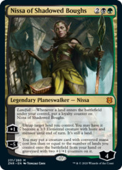 Nissa of Shadowed Boughs - Foil