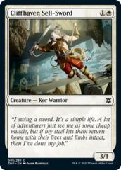 Cliffhaven Sell-Sword - Foil