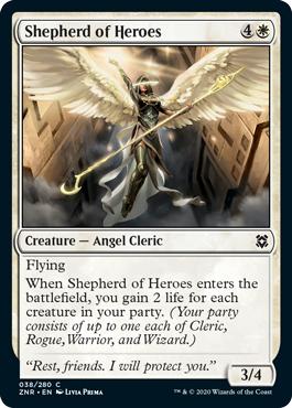 Shepherd of Heroes - Foil