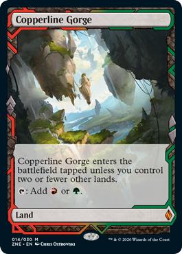 Copperline Gorge - Foil