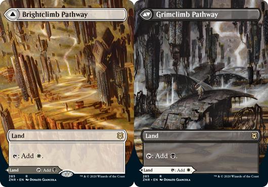 Brightclimb Pathway // Grimclimb Pathway - Borderless