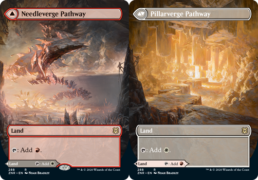Needleverge Pathway // Pillarverge Pathway - Borderless