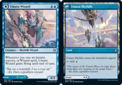 Umara Wizard // Umara Skyfalls - Foil
