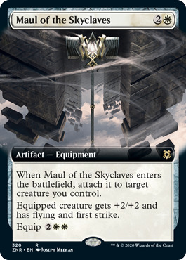 Maul of the Skyclaves - Foil - Extended Art