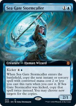 Sea Gate Stormcaller - Foil - Extended Art