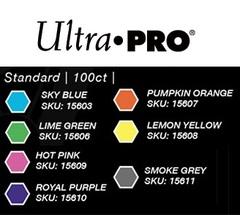 Ultra Pro - Standard Deck Protectors: Eclipse Pro-Gloss Hot Pink 100 ct