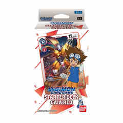 Digimon Card Game: Starter Deck - Gaia Red