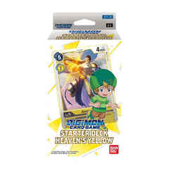 Digimon Card Game Starter Deck - Heaven's Yellow (PRE-RELEASE)