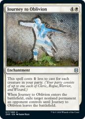 Journey to Oblivion - Foil