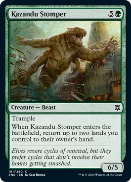 Kazandu Stomper - Foil