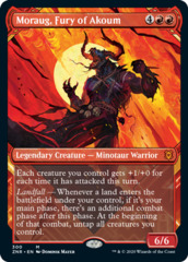 Moraug, Fury of Akoum - Foil - Showcase