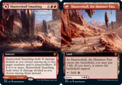 Shatterskull Smashing // Shatterskull, the Hammer Pass - Foil - Extended Art