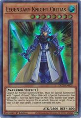 Legendary Knight Critias (Green) - DLCS-EN002 - Ultra Rare - 1st Edition