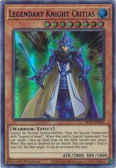 Legendary Knight Critias (Blue) - DLCS-EN002 - Ultra Rare - 1st Edition