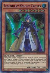 Legendary Knight Critias (Purple) - DLCS-EN002 - Ultra Rare - 1st Edition