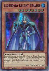 Legendary Knight Timaeus (Purple) - DLCS-EN001 - Ultra Rare - 1st Edition