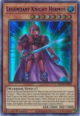 Legendary Knight Hermos (Purple) - DLCS-EN003 - Ultra Rare - 1st Edition
