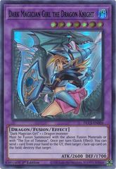 Dark Magician Girl the Dragon Knight (Blue) - DLCS-EN006 - Ultra Rare - 1st Edition (Alternate Art)