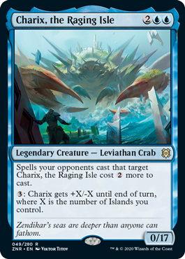 Charix, the Raging Isle