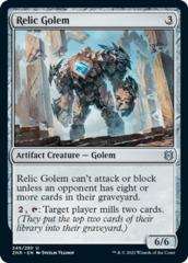 Relic Golem - Foil