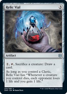 Relic Vial - Foil