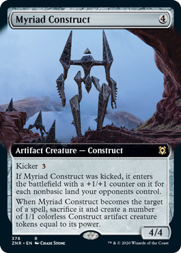 Myriad Construct - Foil - Extended Art