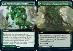 Turntimber Symbiosis // Turntimber, Serpentine Wood (Extended Art) - Foil