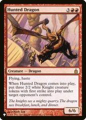 Hunted Dragon - The List