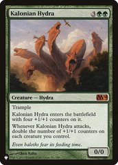Kalonian Hydra - The List