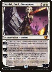 Nahiri, the Lithomancer - The List