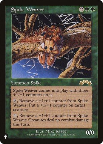 Spike Weaver - The List