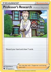 Professor's Research - 062/073 - Holo Rare
