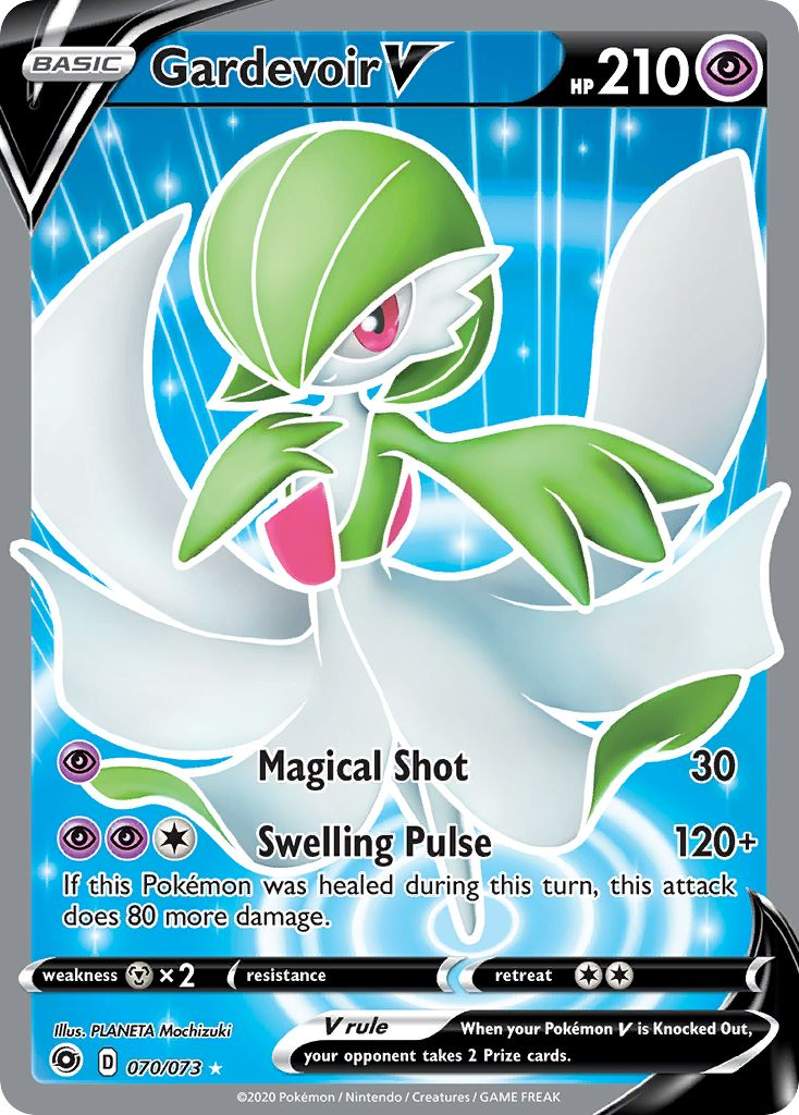 Gardevoir V - 070/073 - Full Art Ultra Rare