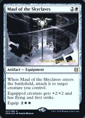 Maul of the Skyclaves - Foil - Prerelease Promo