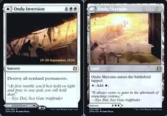 Ondu Inversion // Ondu Skyruins - Foil - Prerelease Promo